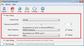 How to Record Screen to Video File